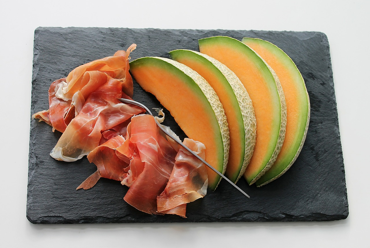jambon melon