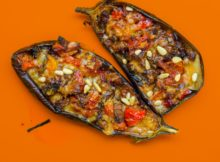 aubergines rissolées