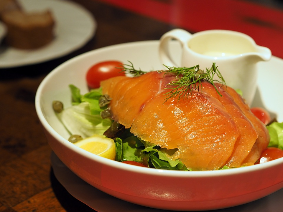 salade de saumon fromage
